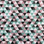 Triangel mint oud roze